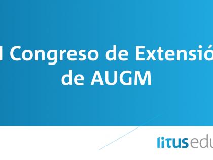 """III Congreso de Extensión de AUGM. """"La misión social de la universidad a 100 años de la reforma"""""""